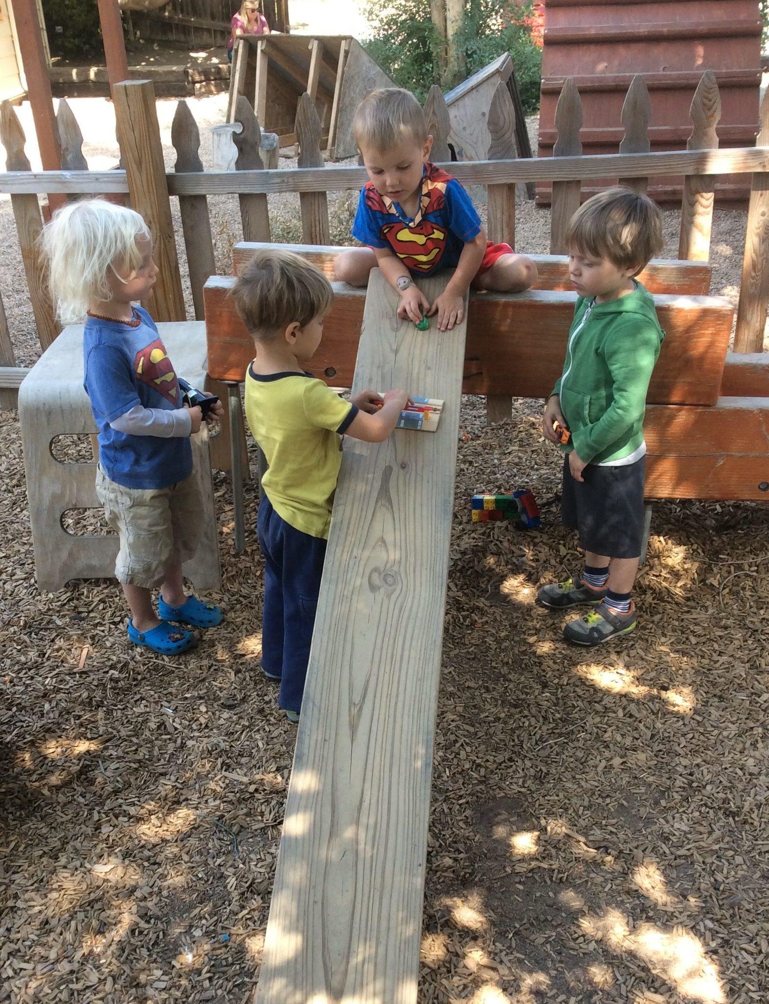 Sliding Patchwork Preschool